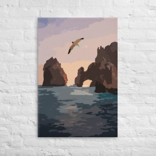 Canvas Prints Seagull